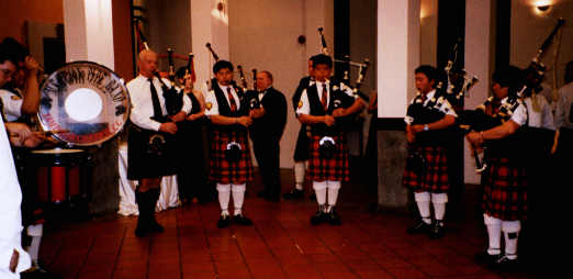 The Merlion Pipe Band