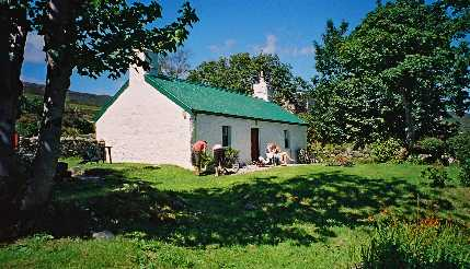 One of the many picturesque cottages of Jura